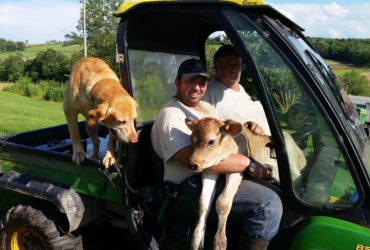 Dairy Farmer Remains Active Despite Knee and Back Problems