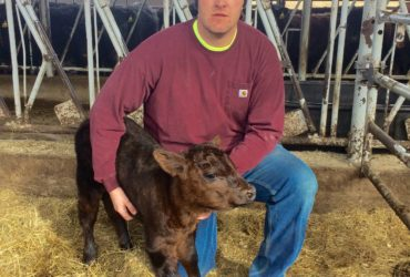 PSU students raise funds to benefit a young farmer with a disability