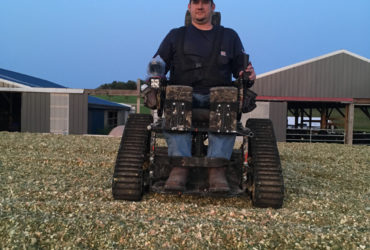 Despite setbacks, Ryan Frye continues to live his dream working on his family farm in Blairsville, Pa.