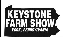 2018 Keystone Farm Show @ York Fairgrounds